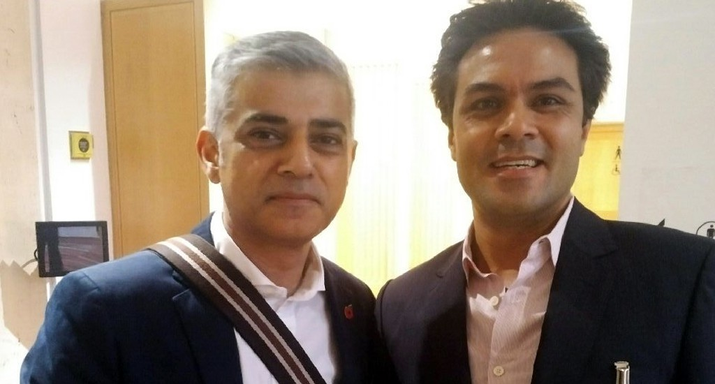 Cleanology CEO meets London Mayor Sadiq Khan