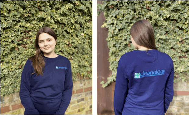 Cleanology is first to kit staff out in uniforms made from 7,000 plastic bottles